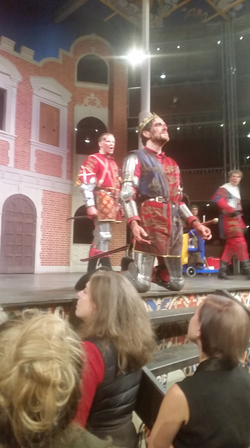 Henry V at the Pop Up Globe (2017)