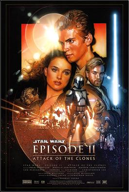 Star Wars II: Attack Of The Clones (2002) -The Film Is On Repeat