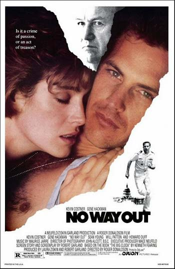 "No Way Out (1987) ""Who Can You Trust?""- The Mystery/ Suspense Spy Film"