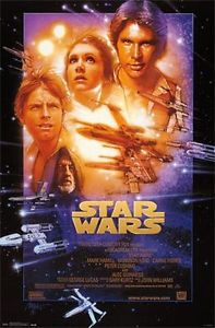 Star Wars IV A New Hope (1977) – A Space Opera Fantastic!
