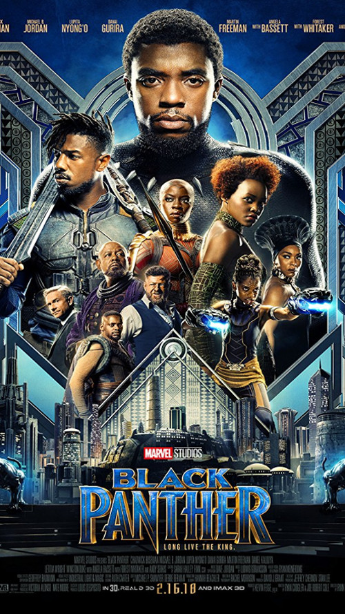 Black Panther (2018) Guns, so uncivilised!